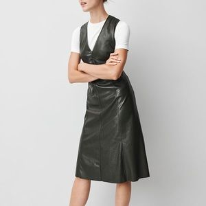 Dresses & Skirts - Faux leather mid dress